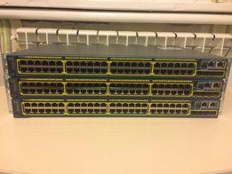 Гигабитные L2 коммутаторы Cisco Catalyst 2960S ( WS-C2960S-48TS-L )