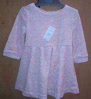 Новое нарядное платье GAP для девочки, 12-18 мес.