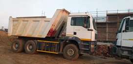 Tipper truck for hire