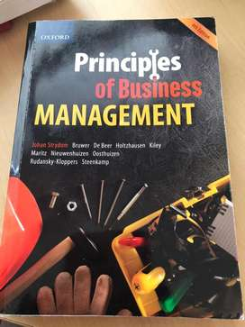 Principles of business management 4th Ed