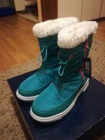 Buty zimowe nowe śniegowce Fila rozm. 38 i 34 tex-technology