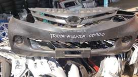 Toyota Avanza Front Bumper (old)