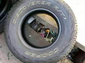 4 tyres for sale 265/65/R17 Cooper discoverer A/T 3