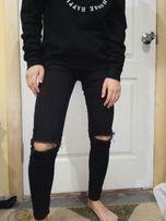 Джинсы рваные , штаны рваные , джинсы с дырками на коленях