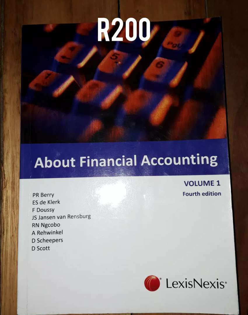 Accounting text books 0
