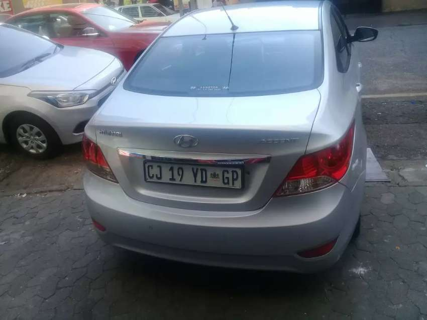 Silver hyundai accent 2013 model 1.6 engine for sale 0
