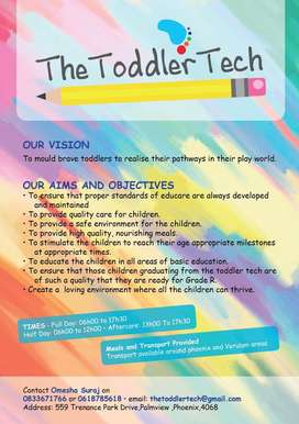 The toddler tech creche and aftercare