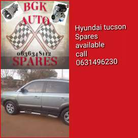 Hyundai tucson spare parts available