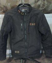 Мото куртка бомбер