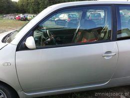 Drzwi lewe Vw Lupo LR7X aluminiowe