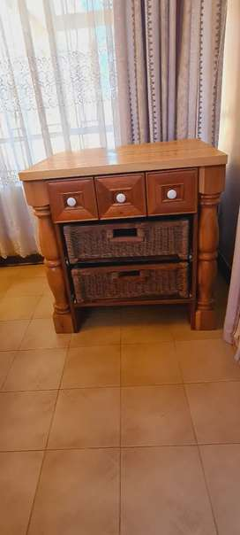 Butcher Block with drawers