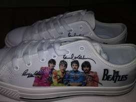 White Shoes The Beetles