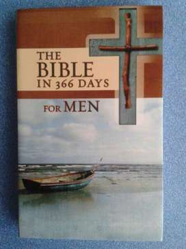 NEW BOOK - The Bible In 366 Days For Men - Christian Art Publishers.