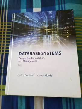 Databse design and implementation 12th edition