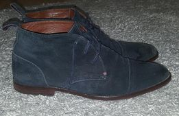 Фирменные,оригинальные,замшевые ботинки tommy hilfiger