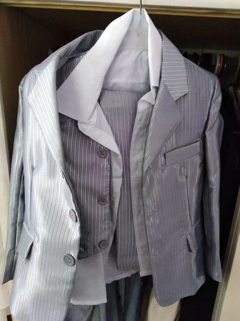 Oblek s košili i vestickou na 4 roky 0