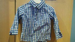Koszula w kratę Reserved, stan idealny