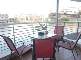 Fully furnished Waterfront Corner Unit