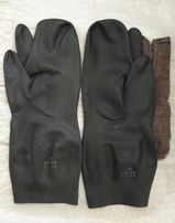 Перчатки ОЗК трехпалые зимние.