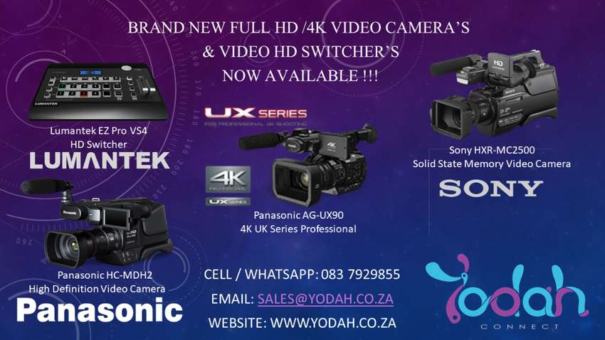 Professional Video Camera's For Sale 0