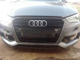 Audi S3 front bumper and main grill