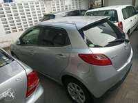 2010 model silver and black Mazda Demio for sale KCP number 0