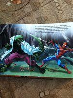 книга для игр Человек паук Marvel