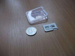 Переходник 2х MicroSD HC в Sony MemoryStick Pro Duo для PSP