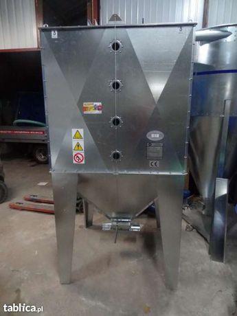 Zbiornik silos pojemnik do paszy zboża pelletu 2000 litrów ocynk Dakowy Suche - image 7