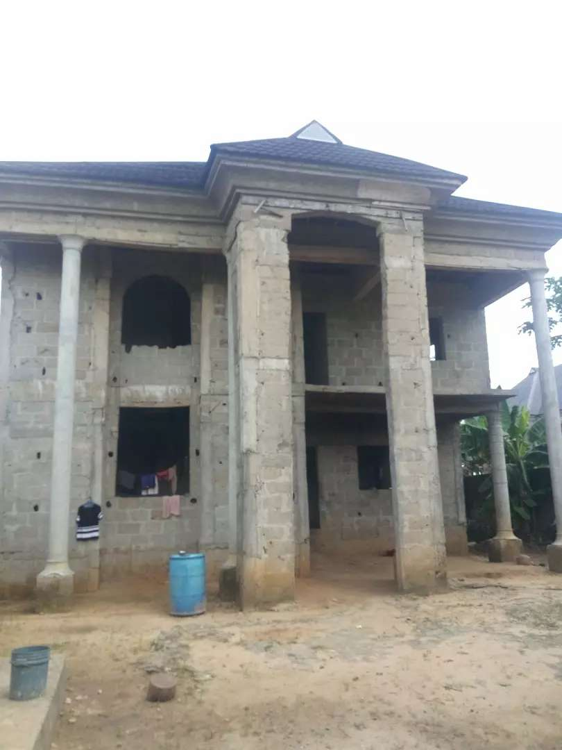 4bedroom duplex for sale At new rd Extension Ada George 0