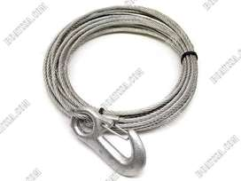 WINCH CABLE WITH FORGED SNAP HOOK 10M