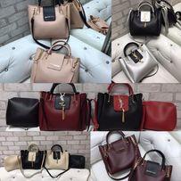 Женская сумка Prada Прада 2в1 Внутри клатч Майкл Корс Michael Kors