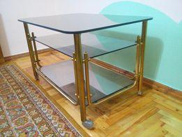 Продам столик латунь и стекло