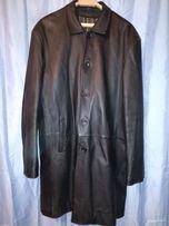 Плащ куртка полупальто пальто 58 размер натуральная кожа