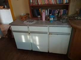 kitchen steel cupboard