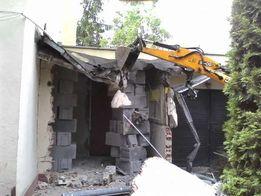 Wyburzenia rozbiorki wywoz gruzu utylizacja prace budowlane