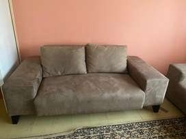 2 brown couches for sale
