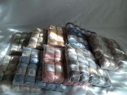 Хлопковые НИТКИ (пряжа) для вязания SIRDAR (Английское качество)