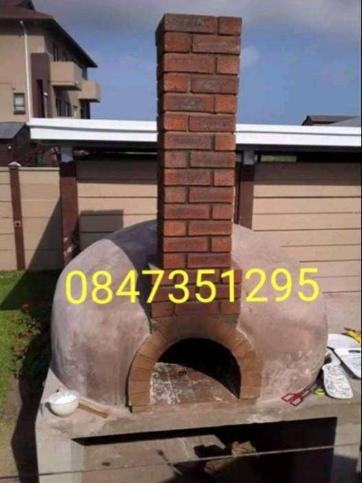 WOOD FIRE PIZZA OVEN 0