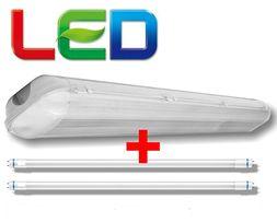 СКИДКИ!! Светильники пыле-влагозащищенные с LED лампами
