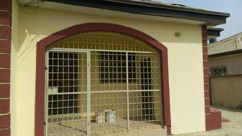 3 bedroom bungalow with boysquarter at Lugbe for sale. 0
