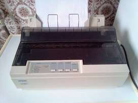 Epson LX300+ Dot Matrix Printer. Power and LTP Cables Included.