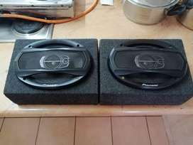 Pioneer 3 way 6 X 9s coaxial speakers 400watts