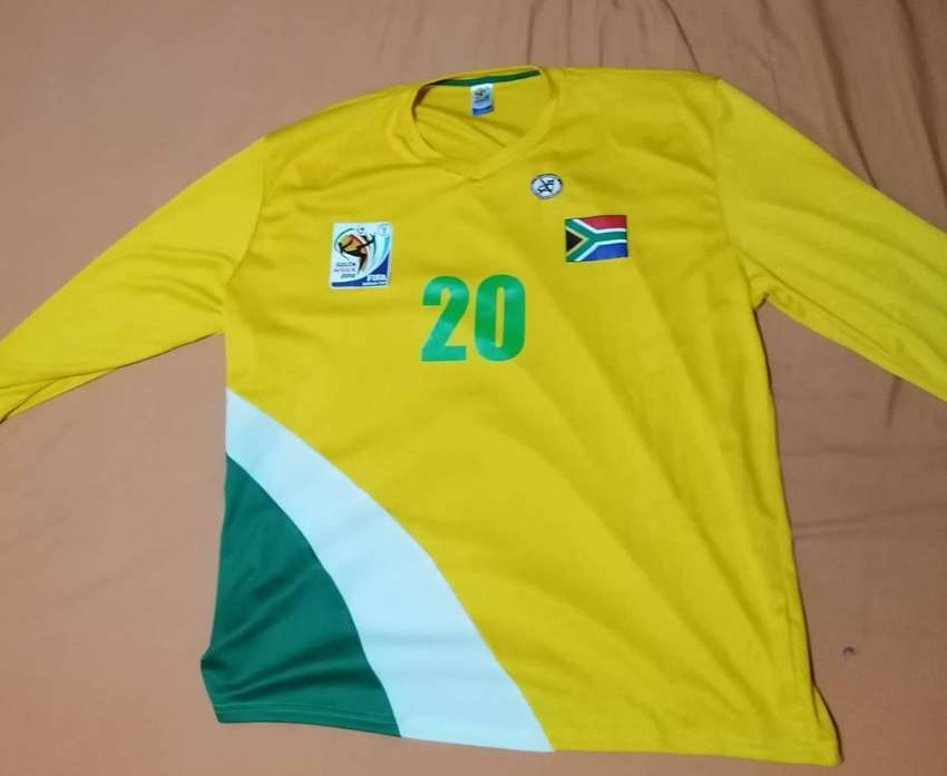 Long sleeve soccer jersey south Africa