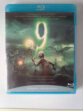 "Blu-ray DVD Movie ""9"". As well as other Movies and Music Blu-ray DVD's"