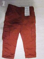 Новые коттоновые брюки для мальчика