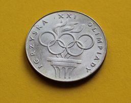200 zł srebrna moneta Igrzyska XXI Olimpiady 1976 r monety Polskie PRL