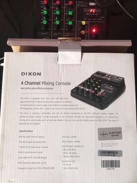 4 Channel Mixing Sound Card (Dixon)