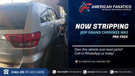 Now stripping Jeep Grand Cherokee WK2 for spares!