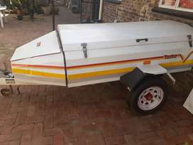 Venter trailer with nose cone 2.5 M